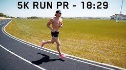5K RUN PR | 18:29 At 194 Pounds