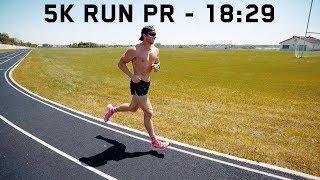 5K RUN PR | 18:29 В 194 фунтах