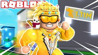 I AM THE FASTEST OF ALL ROBLOX! 😍⚡️ *1 MILLION SPEED* RODNY