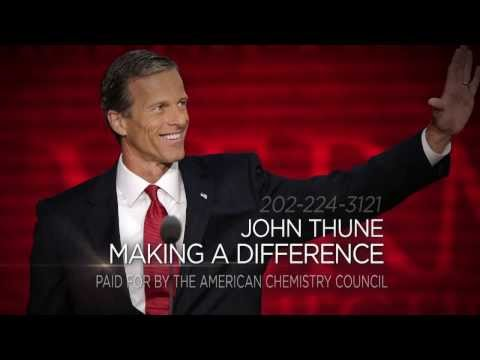 Support for Sen. John Thune (R-SD)