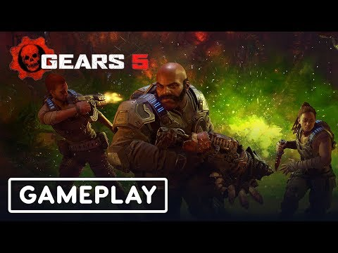 14 Minutes of Gears 5 Horde Escape Gameplay - E3 2019