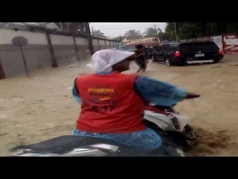 Las Lluvias fuertes en Puerto Plata, República Dominicana 09-11-2016
