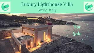 Luxury Lighthouse for Sale | AZ Italian Properties | Luxury Properties Italy | Lighthouse Sale Rent
