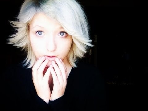 how to your hair white without bleaching or dying a