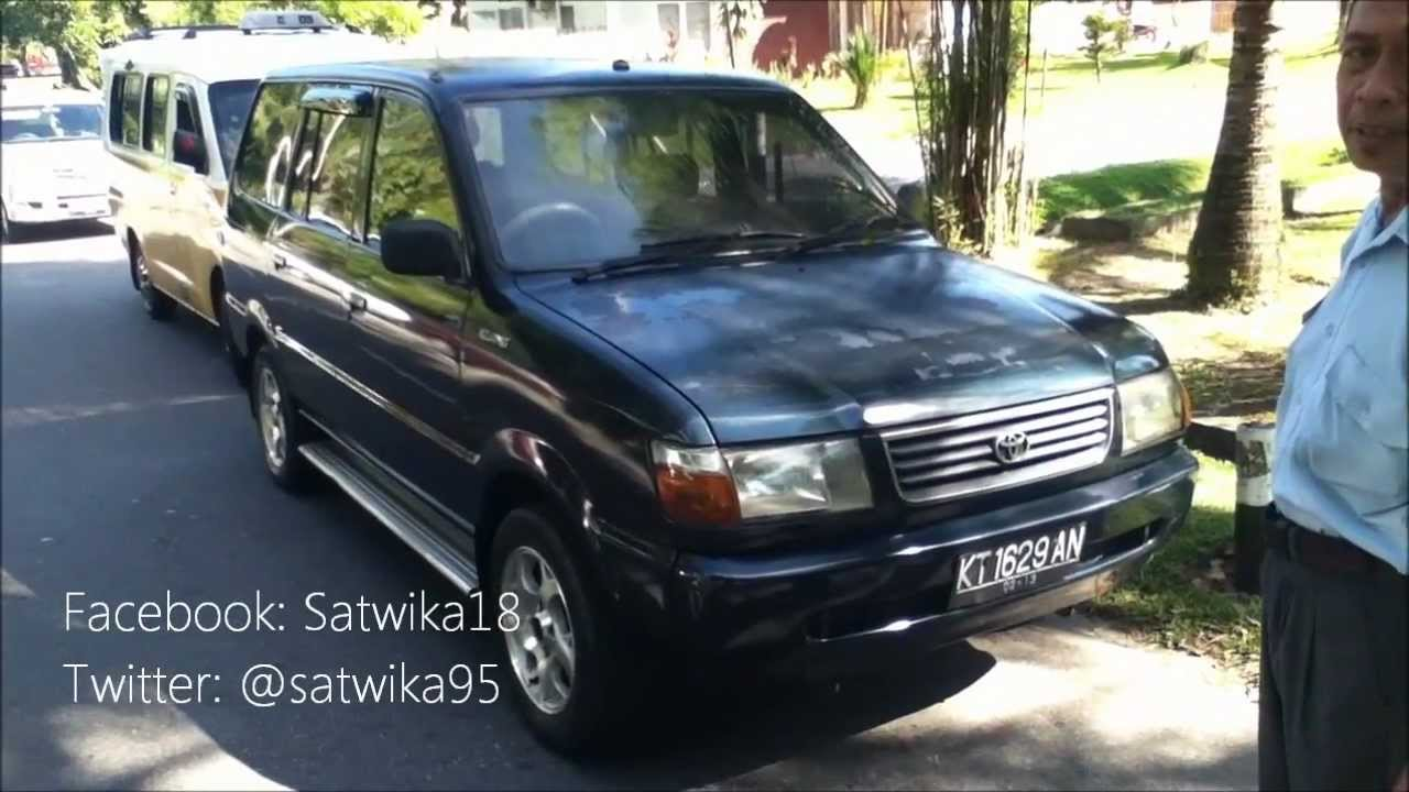 1999 Toyota Kijang Lsx 1 8  Start Up  Engine  In Depth Tour