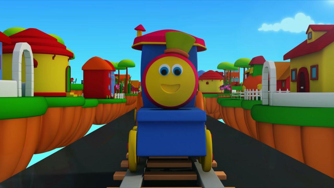 Bob O Trem Trem De Transporte Desenho Animado Bob Transport