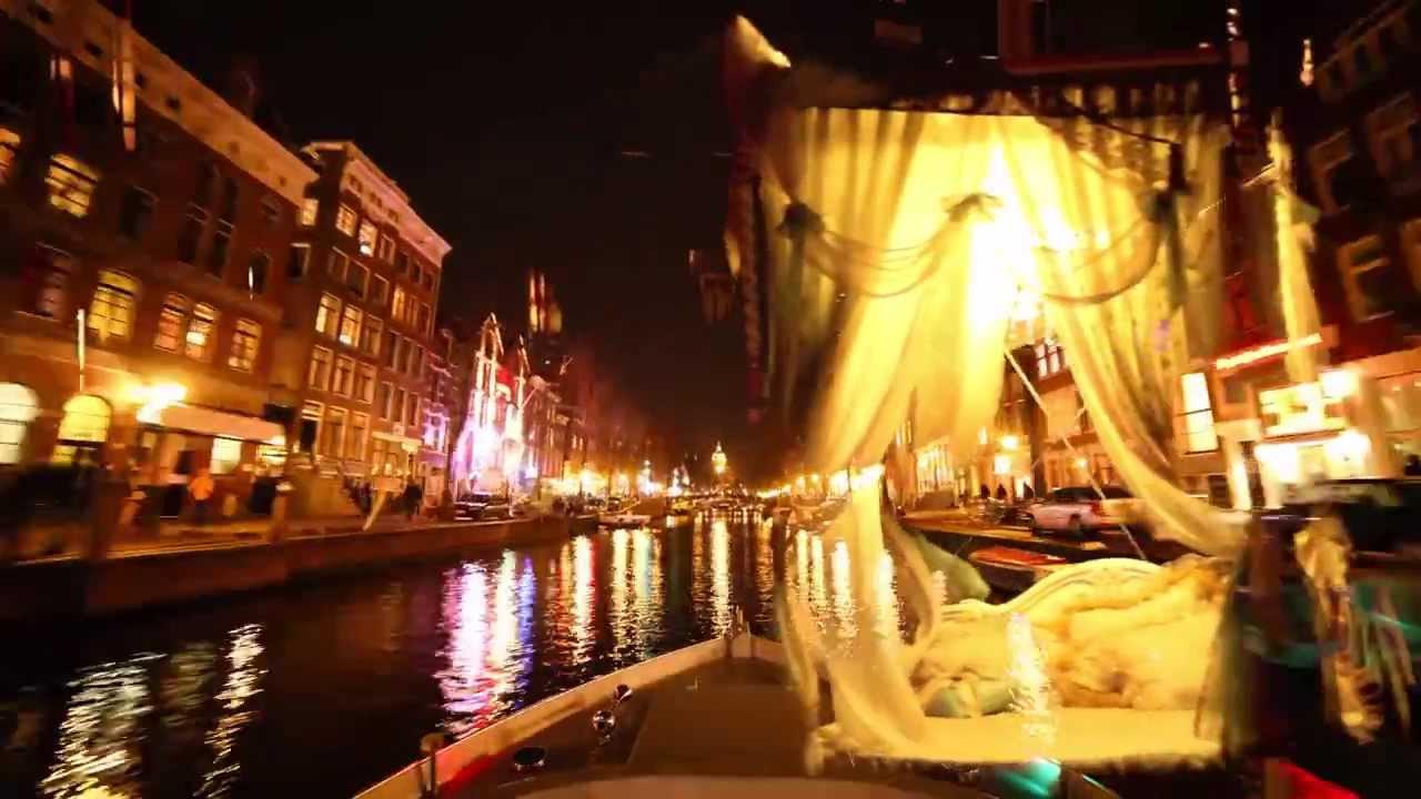 amsterdam light festival boat