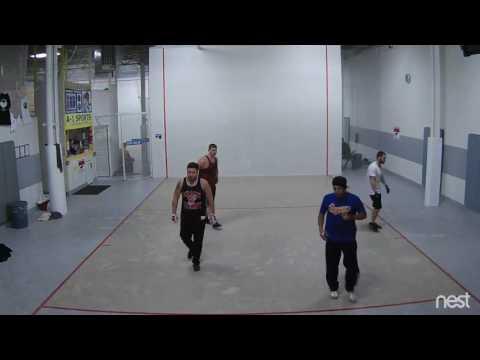 A-1 Sports New York Handball - Robert N./Rob KO vs. Arnold/Alexis 1/17/17