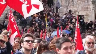 Vittime di Mafia, manifestazione di Libera a Perugia