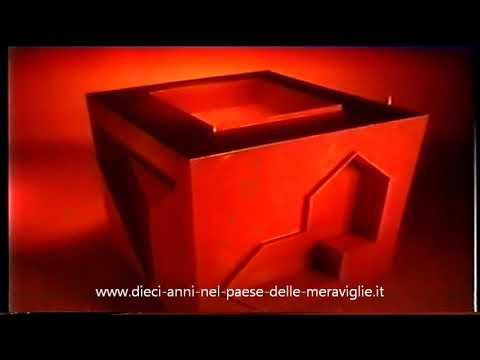 Pubblicità Spot TV Cubo di Adamo 1 Linea GIG Dieci Anni Nel Paese Delle Meraviglie