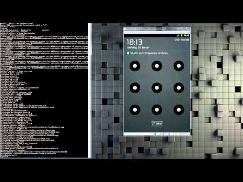 Android Hacking - Muster Lockscreen Entfernen