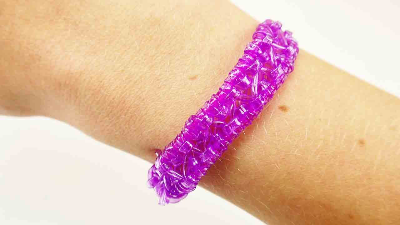 Scoubidou Armband neues Muster   Tolles Freundschaftsarmband selber ...