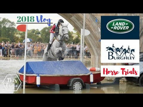 Land Rover Burghley Horse Trials 2018 | Vlog | This Esme