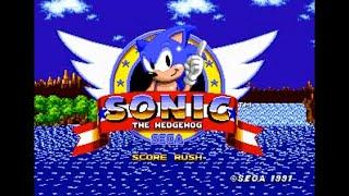 Sonic Hack Longplay - Sonic 1 - Score Rush (REV01)