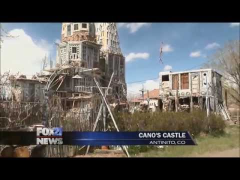Cano's Castle in Antonito, CO
