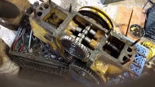 caterpillar d2 pony motor valve removal