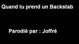 """Quand tu prends un backstab - Joffré (parodie wow de """"quand on arrive en ville"""")"""