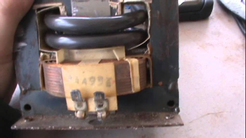 220 Volt Wiring >> Home Made Spot Welder Pt 1 - YouTube