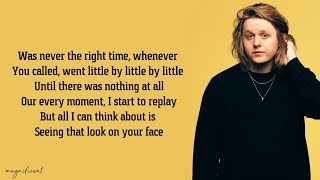 Lewis Capaldi - Before You Go Lyrics
