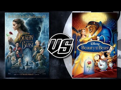 Beauty and the Beast (2017) VS Beauty and the Beast (1991)