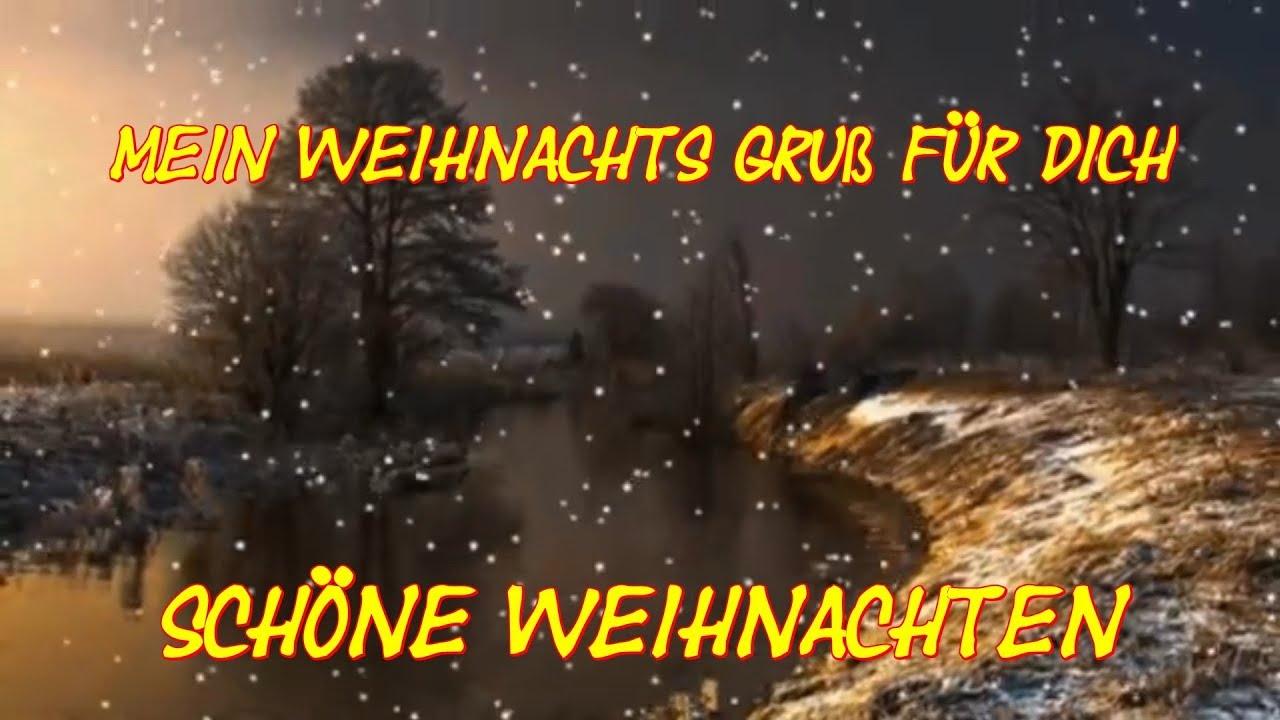ich wünsche Dir schöne Weihnachten Advent Feiertage Christmas Feliz ...