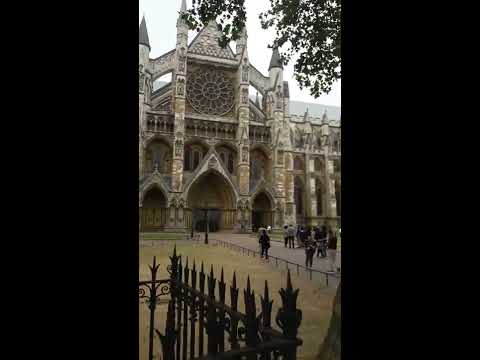 LONDRES - WESTMINSTER ABBEY (CAMPANAS)