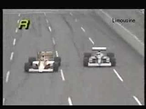 Ayrton Senna vs Jean Alesi F1 1990 USA GP