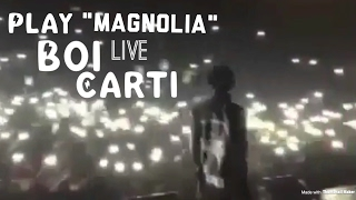 PlayBoiCarti Performs 'Magnolia' CRAZY LIT!