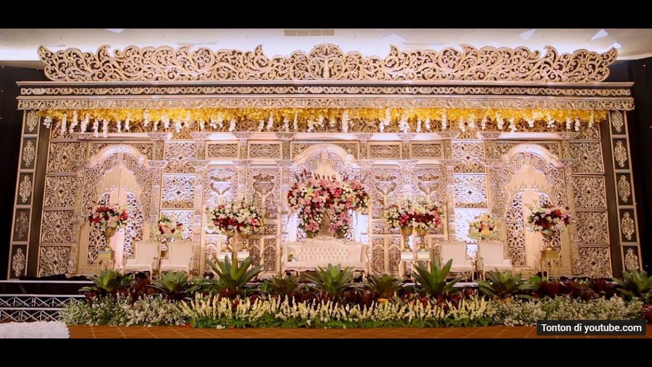 Dekorasi Pernikahan Resepsi Lidyamade Grand Ballroom