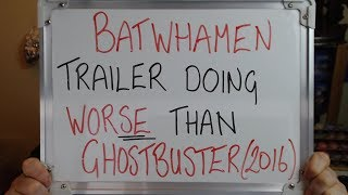 BATWOMAN Trailer is more DISLIKED Than GHOSTBUSTERS 2016. WHY??