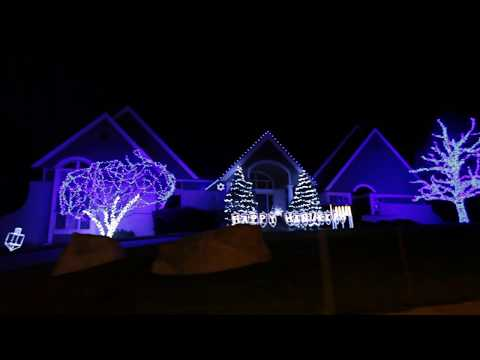 """Driving Tour of Omaha Holiday Lights: """"Look at all that Christmas!"""""""