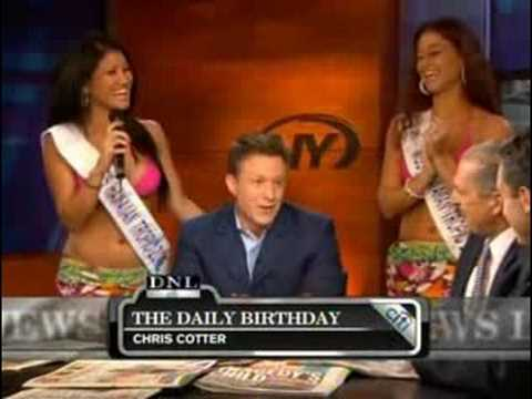 Hawaiian Tropic Zone Girls visit SNY