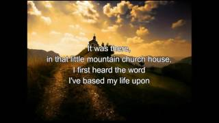 Ricky Skaggs -  Little Mountain Church House lyrics