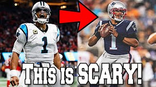 CAM NEWTON REACTS to the CAROLINA PANTHERS RELEASING him to NFL Free Agency
