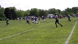 Clip #5 B'ham Patriots vs Waterford  Scrimmage 8-18-18