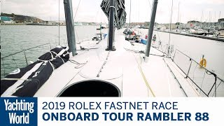 Amazing technology onboard Rambler 88 | Yachting World