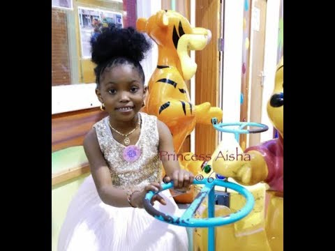 PRINCESS AISHA 6TH BIRTHDAY PARTY @ TALLAGHT ADVENTURE WORLD