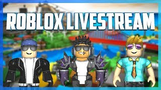 LIVESTREAM // ROBLOX Jailbreak, Phantom Forces, Murder Mystery 2, Island Royale, Survivor + More!