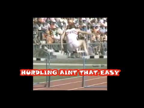 Hurdling Aint That Easy (ATHLETICS)