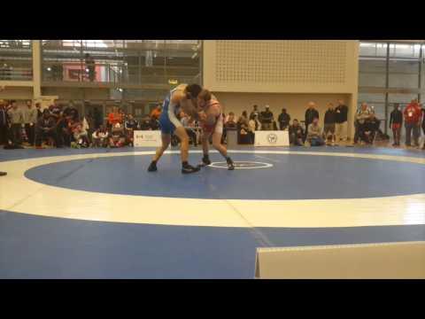 2015 Senior Greco-Roman National Championships: 66 kg Michael Asselstine vs. Kevin Iwasa-Madge