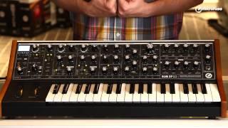 Presentación del sintetizador Moog Sub 37 Tribute en MicroFusa Madrid