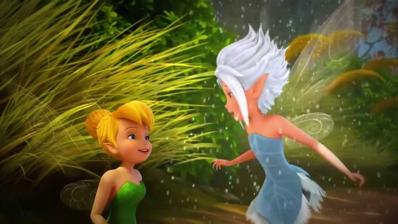TinkerBell and the Secret of the Wings:Periwinkle - YouTube