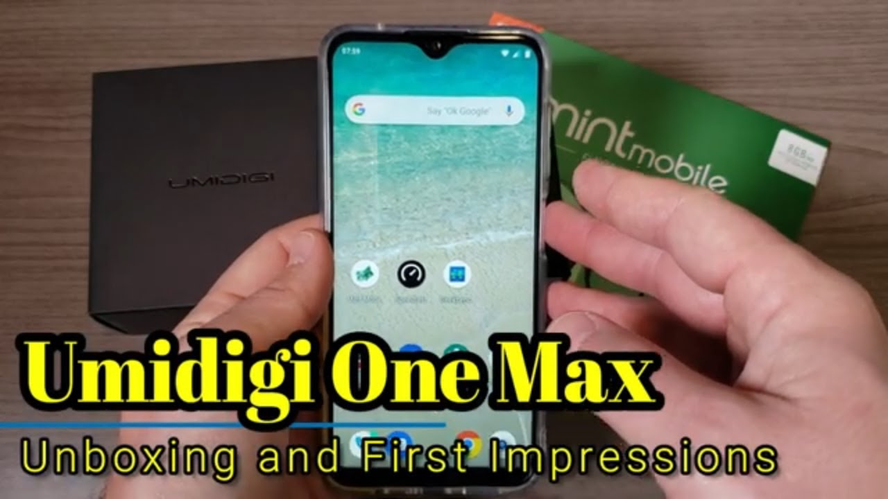 Umidigi One Max: Unboxing and First Impressions - Helio P23, 4gb RAM, 128  GB ROM,