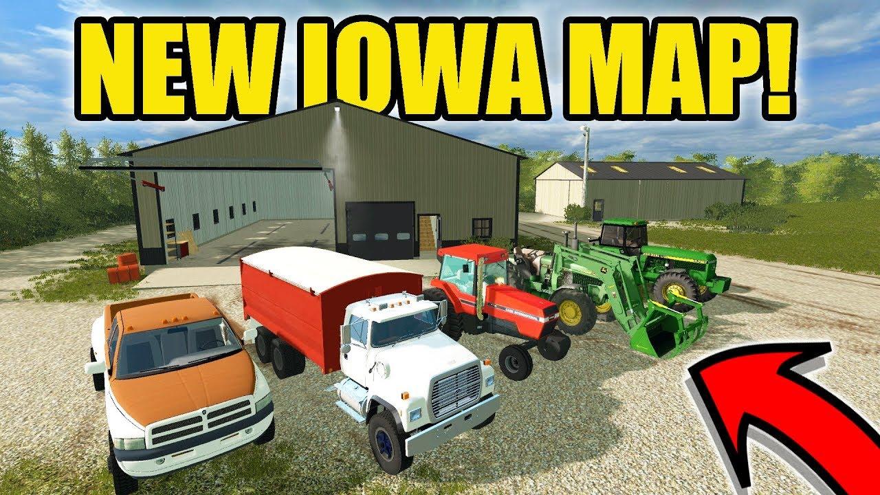Fs17 Iowa Map – Bestinthesw