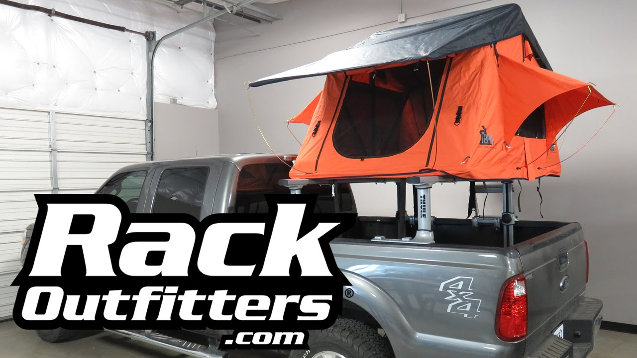 Tepui Kukenam Ruggedized Roof Top Tent On Ford F250 And
