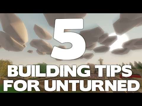 how to build base in unturned