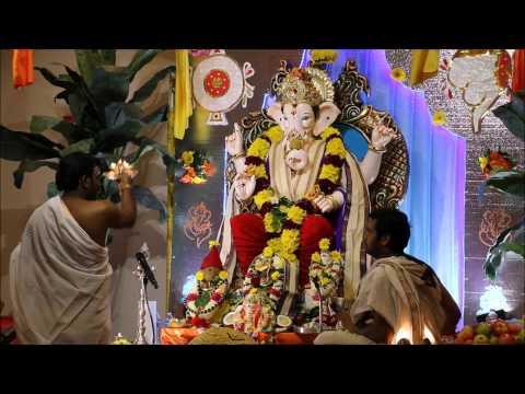 Vinayaka Chaviti Celebrations 2015 || Sai Baba Temple || Columbus