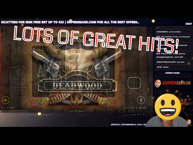Deadwood Bonus Buys!! Awesome Win!