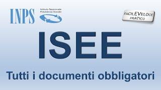 ISEE DOCUMENTI - INPS DSU