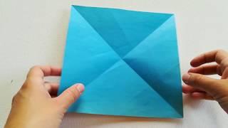 Paper origami Sea Gull on the water ???? - Оригами из бумаги Чайка на воде / Видео